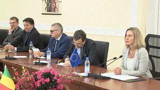 UE : Mogherini attendue ce lundi sur 2 dossiers