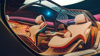 Bentley unveils 'future of luxury' self-driving car