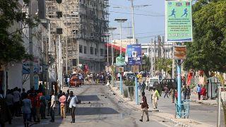 صورة أرشيفية لأحد شوارع الصومال