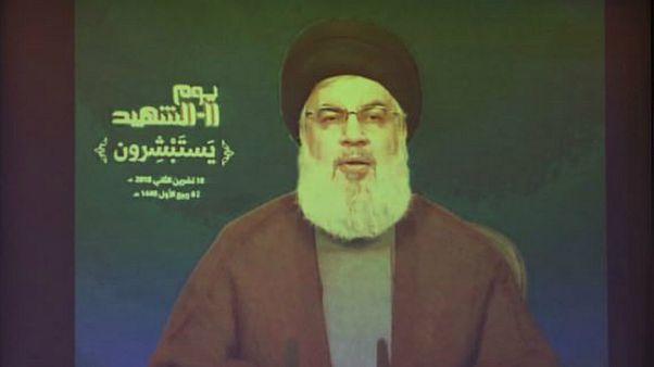 نصر الله: حزب الله قلص وجوده في سوريا وواشنطن تسعى لفتح قنوات اتصال معه