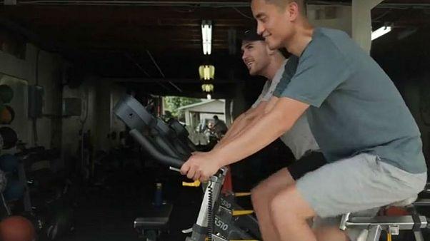 Video | Bu spor salonu binanın elektriğini müşterilerinden elde ediyor