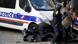 خشونت در پاریس؛ جلیقهسیاهها پانتئون را اشغال کردند