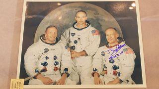 Dazu etwas Mondstaub: Relikte der Apollo 11-Mission werden versteigert