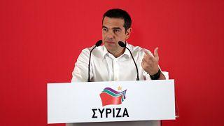Ο πρόεδρος του ΣΥΡΙΖΑ Αλέξης Τσίπρας  μιλαέι στη συνεδρίαση της Κεντρικής Επιτροπής του κόμματος, Αθήνα Σάββατο 13 Ιουλίου 2019.  ΑΠΕ-ΜΠΕ/ΑΠΕ-ΜΠΕ/ΟΡΕΣΤΗΣ ΠΑΝΑΓΙΩΤΟΥ