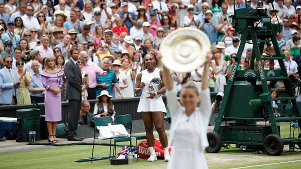 Wimbledon : Halep l'emporte et prive Williams d'un record en Grand Chelem