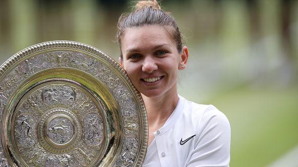 Симона Халеп стала победительницей Уимблдона