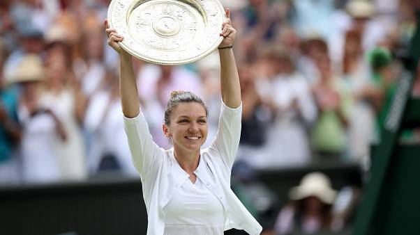 Simona Halep gewinnt erstmals Tennis-Turnier von Wimbledon