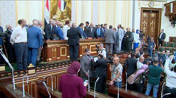 نواب ليبيون ومصريون في مجلس النواب المصري