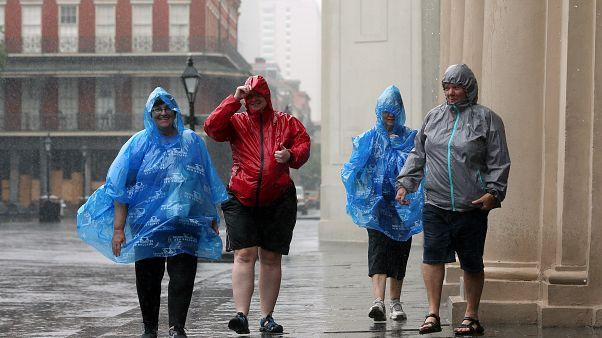 Έφτασε στη Λουιζιάνα ο κυκλώνας Μπάρι