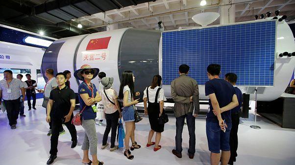 مختبر فضائي صيني مأهول يدخل قريبا إلى الغلاف الجوي