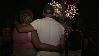 3 Jahre danach: Wieder Feuerwerk in Nizza