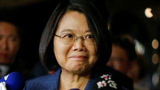 Tayvan Devlet Başkanı Tsai Ing-wen / New York