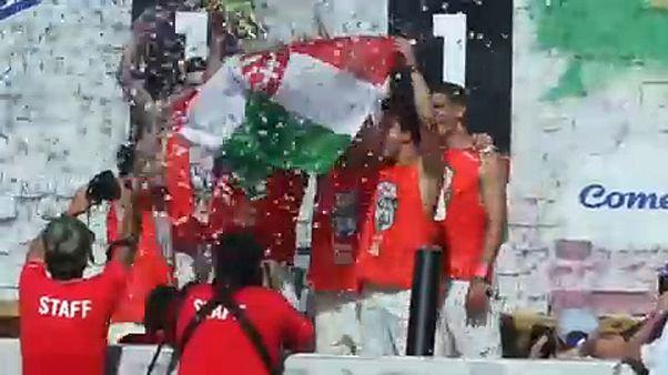 Magyar futballsiker Brazíliában