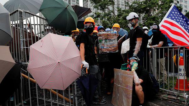 Hong Kong : les protestataires toujours mobilisés ce dimanche