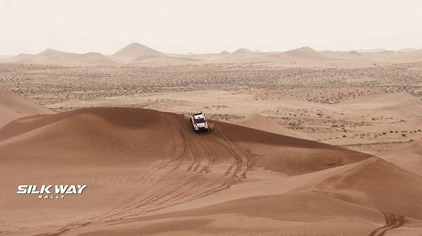 Silk Way Rallye 2019 - Nasser Al-Attiyah gewinnt 8. Etappe