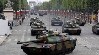 Le défilé militaire du 14-Juillet placé sous le signe de l'Europe