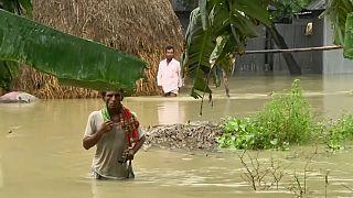 Φονικές πλημμύρες στο Νεπάλ