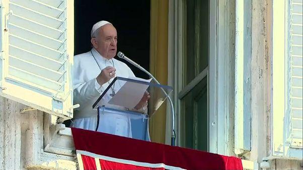 El papa Francisco pide un acuerdo para terminar con el sufrimiento en Venezuela