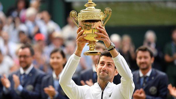 Novak Djokovics nyerte a férfi egyes döntőjét Wimbledonban