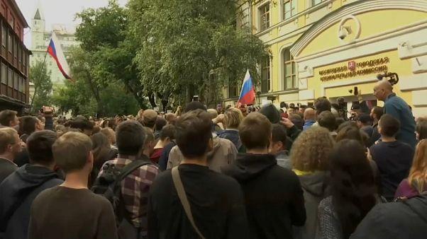 Russie : La Commission électorale dans le viseur des manifestants