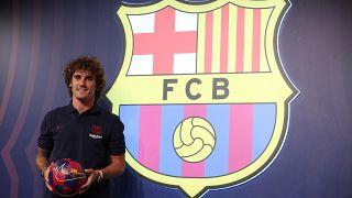 Griezmann 120 milyon euro rekor bedelle Barcelona'ya transfer oldu