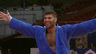 Judo Grand Prix Budapest - Gold für Or Sasson