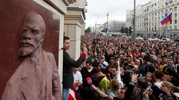 """""""Nos están robando las elecciones"""", denuncia la oposición rusa"""