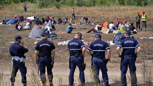 Minden egyes illegális határsértő 22 milliójába kerül a rendőrségnek - írja a Népszava