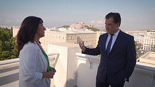Entretien avec le nouveau ministre grec de la Croissance