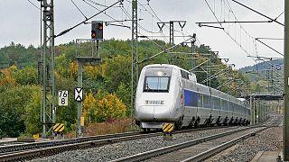 Tgv Sncf High-Speed Rail Line
