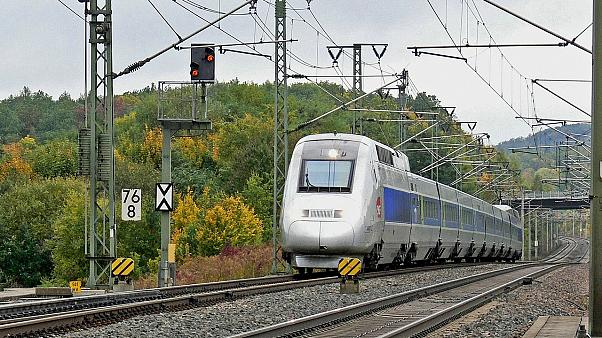 Tgv Sncf High-Speed Rail Line