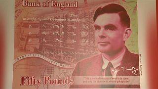 Mathematikgenie Alan Turing ziert britischen 50-Pfund-Schein