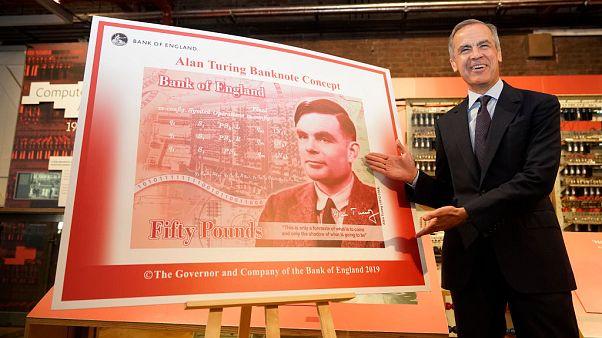 Eşcinsellikle 'suçlandı', 41 yaşında intihar etti; İngiliz mucit Turing banknota basılıyor