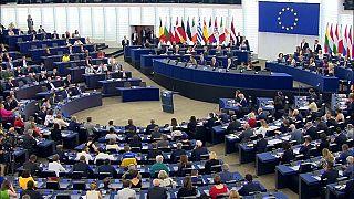 Ursula von der Leyen presenta a la Eurocámara su programa como presidenta de la Comisión