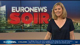 Euronews Soir : l'actualité du 15 juillet 2019