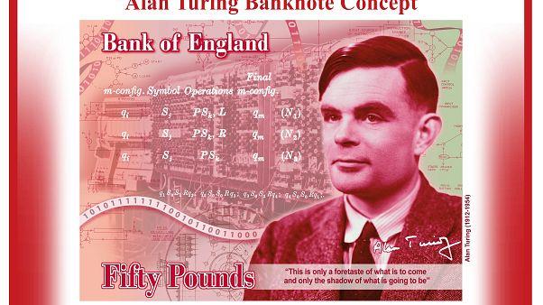 Alan Turing, el informático que descifró el Código Enigma, nueva cara de los billetes de 50 libras