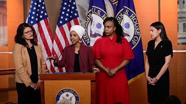 واکنش چهار نماینده زن دمکرات به انتقاد های جنجالی ترامپ