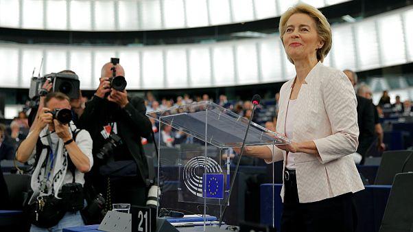 اورزولا فن در لاین، نامزد ریاست کمیسیون اروپا