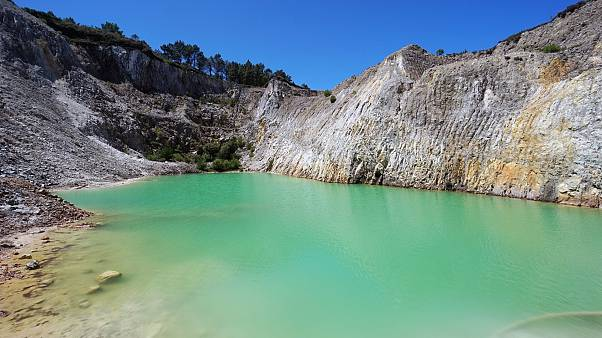Instagrammers fall ill after mistaking toxic mining quarry in Spain for idyllic lake