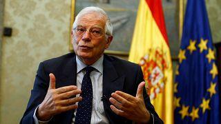 Josep Borrell, ministro en funciones de Asuntos Exteriores de España