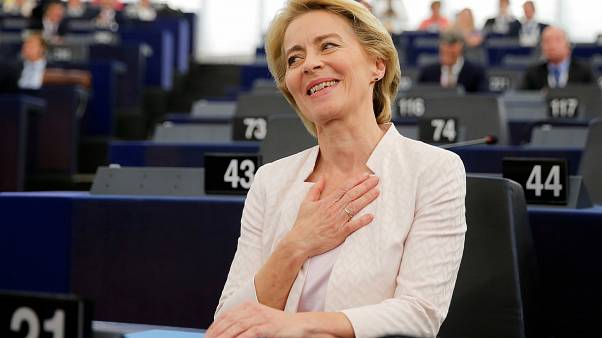 'Very relieved': Ursula von der Leyen gets Europe's top job in narrow vote
