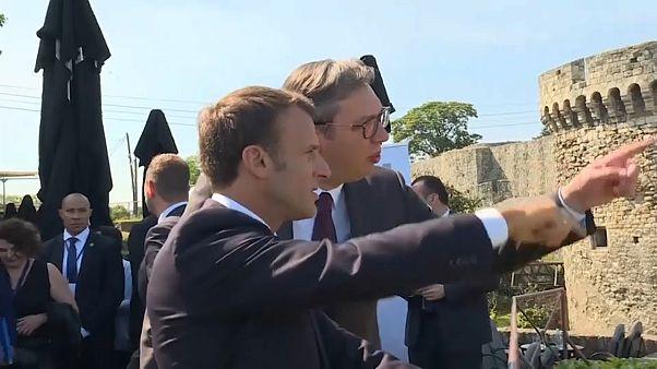 """Kosovo und Serbien: Macron will """"intelligente Lösung"""""""