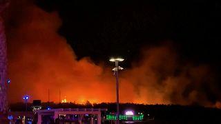 Ακυρώθηκε μουσικό φεστιβάλ λόγω πυρκαγιάς