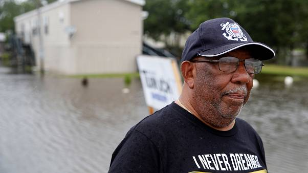 Storm 'turned Mississippi Delta into an ocean'