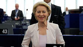 اورزولا فن در لاین با رای پارلمان اروپا به ریاست کمیسیون اروپا رسید