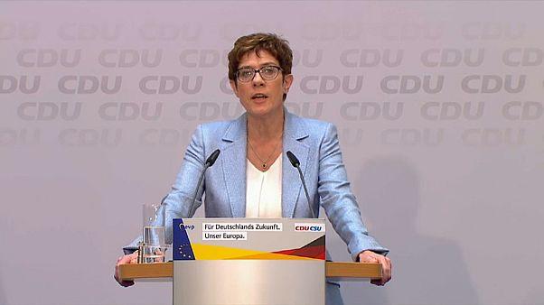 Kramp-Karrenbauer wird neue Verteidigungsministerin