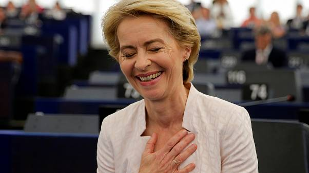 A sigh of relief — but not everyone was happy at von der Leyen's endorsement