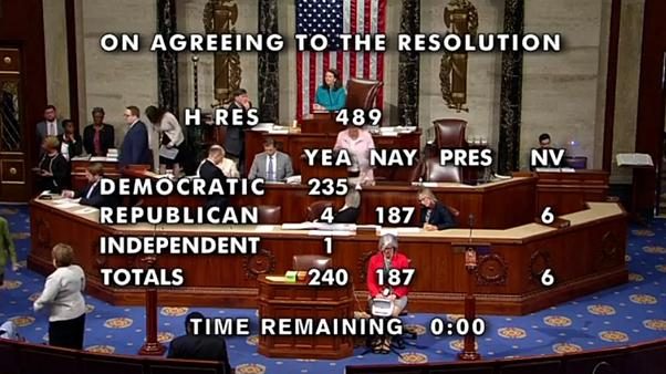 قطعنامه مجلس نمایندگان در محکومیت حملات «نژادپرستانه» ترامپ