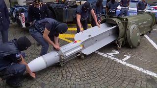 قطر تقول إنها باعت الصاروخ الفرنسي الذي عُثر عليه في إيطاليا قبل 25 عاما