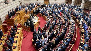 Ορκίστηκαν οι 300 βουλευτές των έξι κομμάτων που εκλέχθηκαν στις τελευταίες εθνικές εκλογές της 7ης Ιουλίου.